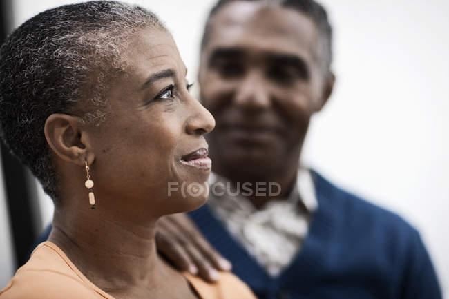 Mature couple afro-américain — Photo de stock