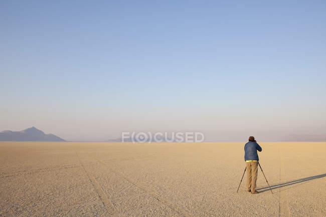 Пустыня Black Rock, Невада — стоковое фото