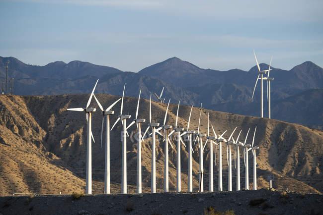 Éoliennes — Photo de stock