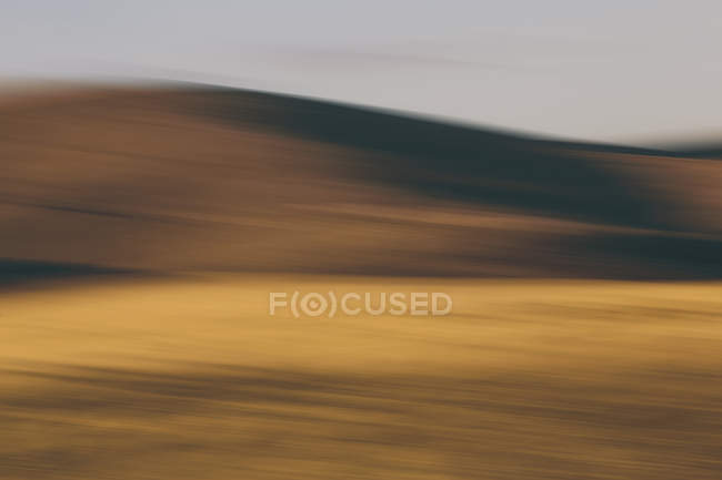 Contours of rolling hills — Stock Photo