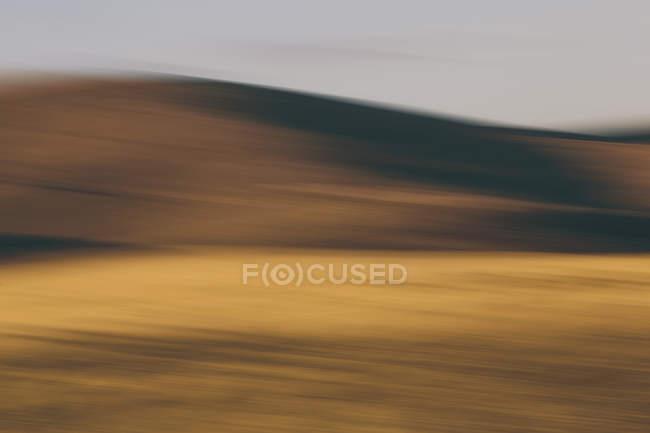 Контуры холмы — стоковое фото