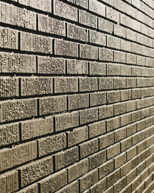 Brown brick wall — Stock Photo