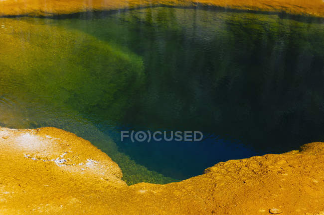 Detail of colorful water — Stock Photo