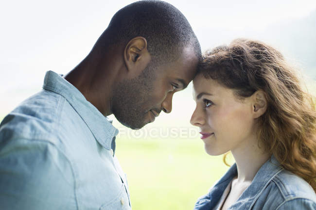 Young man and woman — Stock Photo