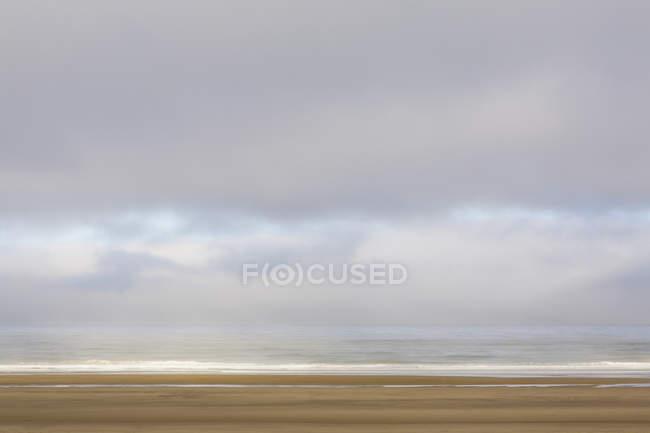 Küste bei Manzanita, in Oregon — Stockfoto