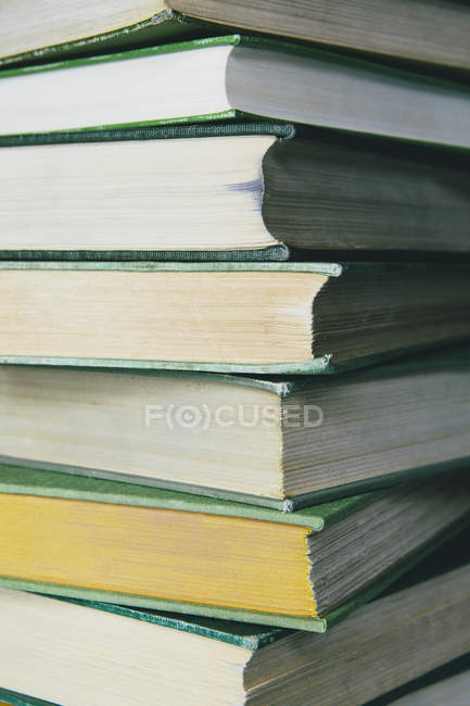 Hard cover books — Stock Photo