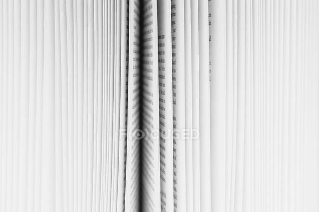 Book with slightly fanned out pages — Stock Photo