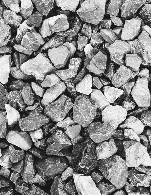 Rock pile used for construction — Stock Photo