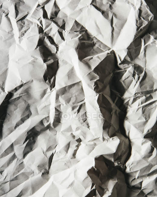 Piece of recycled white paper — Stock Photo