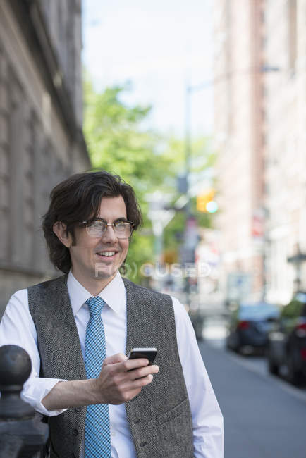 City life. People on the move. — Stock Photo