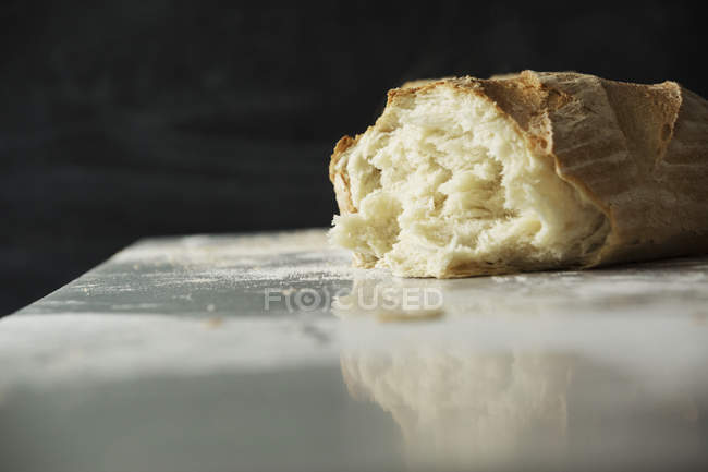 Freshly baked loaf of bread. — Stock Photo