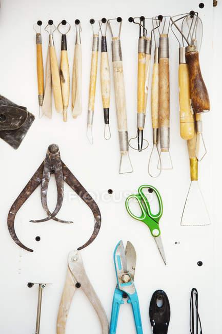 Інструмент Ради, щітки і ручні інструменти — стокове фото