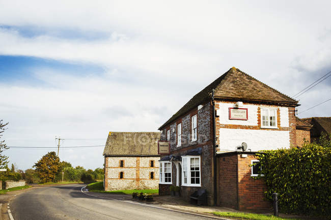 Red Lion public house — Stock Photo