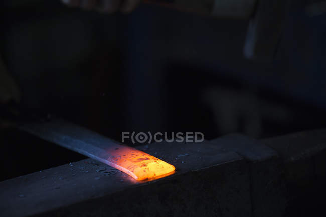 Red hot metal — Stock Photo