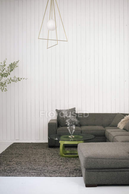 Interior view of a living room — Stock Photo