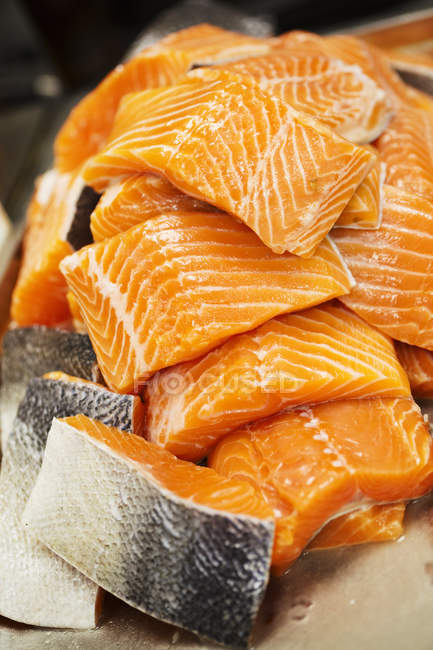 Стек Філе лосося — стокове фото