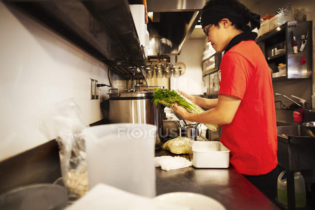 Ramen noodle shop. — Stock Photo