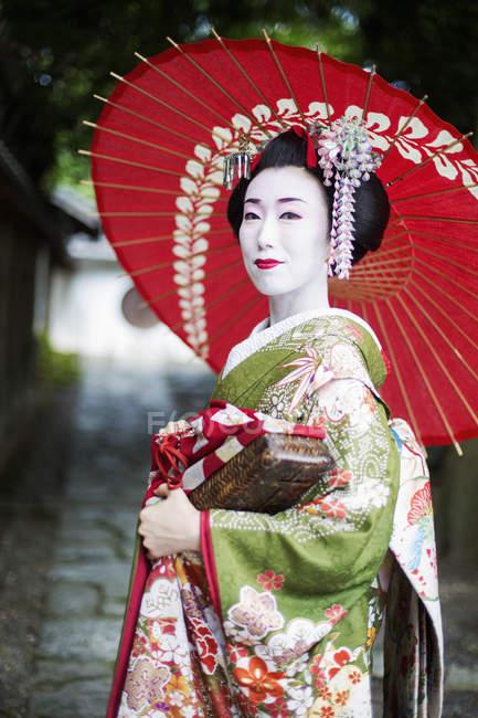 Жінки в стилі traeditional гейші — стокове фото