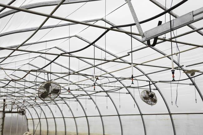 Большой промышленный питомник — стоковое фото