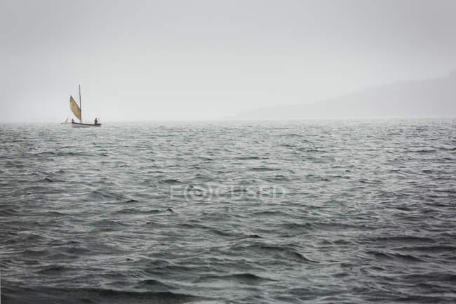 Traditional sailing boats — Stock Photo