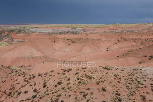 Painted Desert rock formations — Stock Photo