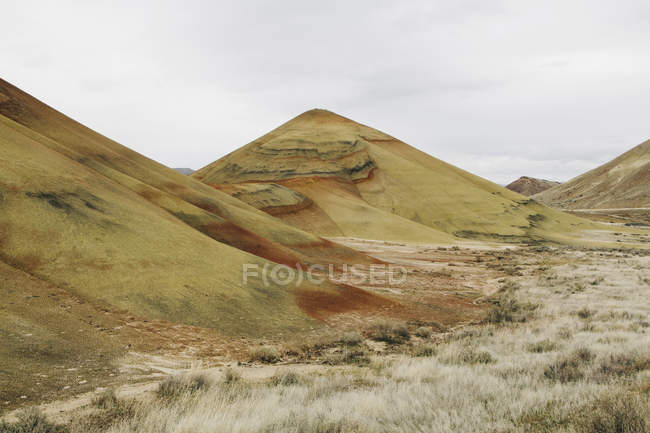 Painted Hills desert landscape — Stock Photo
