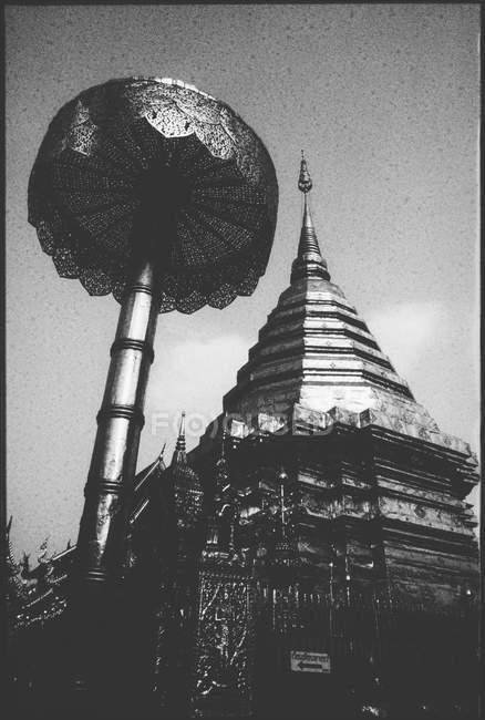 Veduta del Tempio Buddista — Foto stock