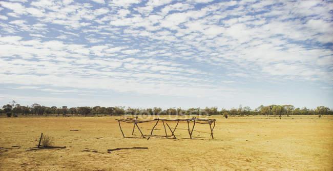 Paysage rural outback — Photo de stock