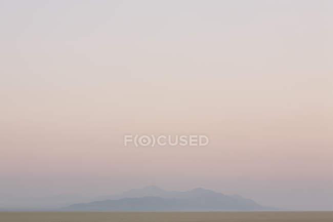 Mountain shrouded in mist — Stock Photo