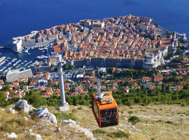 Dubrovnik on Adriatic Sea — Stock Photo