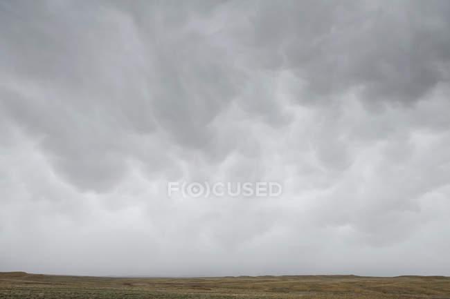 Зловісний грозових хмар — стокове фото