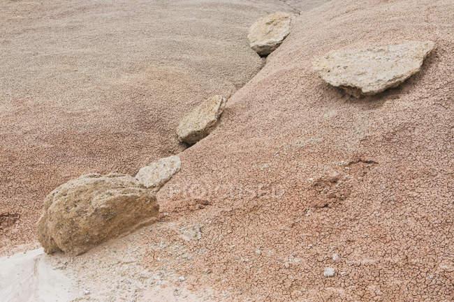Collines de bentonite de Cathedral Valley — Photo de stock