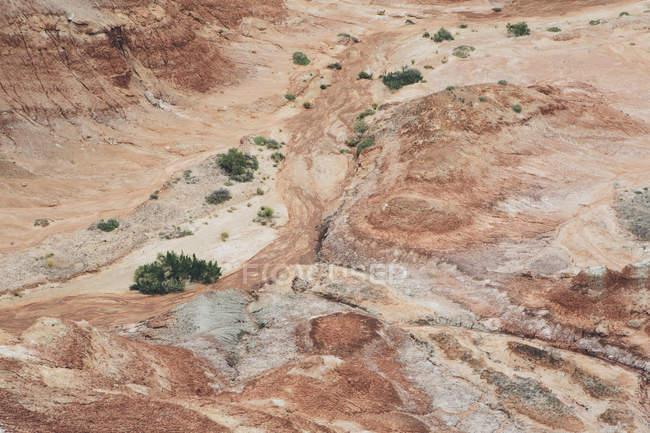 Бентоніт пагорби долини собор — стокове фото