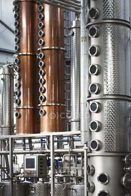 Талль Медный завод камер — стоковое фото