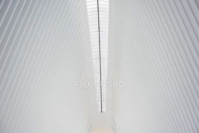 Colonna vertebrale centrale della struttura del tetto — Foto stock