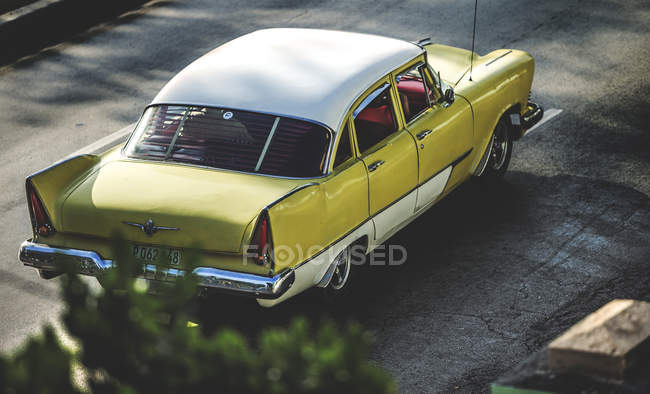 Classic 1950s car — Stock Photo