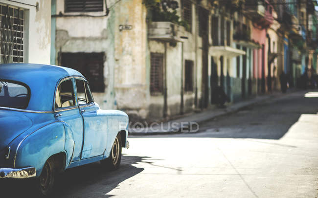 Classic 1950s car — Stock Photo