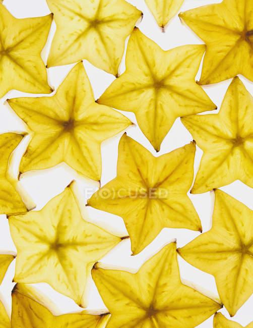 Natürliche Sternfrüchte Muster — Stockfoto