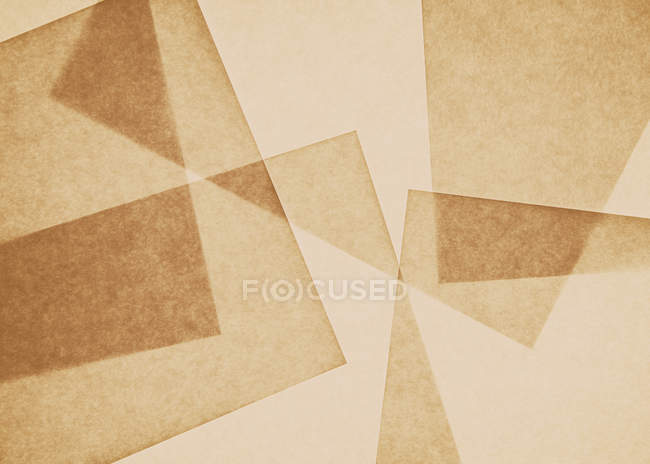 Pattern of overlapping pieces of paper — Stock Photo