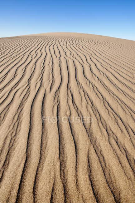 Modèle de dunes de sable dans le parc national Namib-Naukluft, Namibie . — Photo de stock