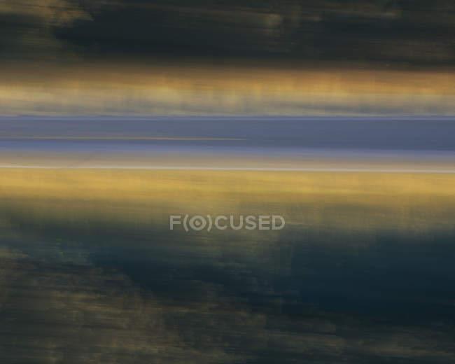 Abstrakte verschwommene Bewegung der Krater des Mondes Nationaldenkmal, idaho, USA. — Stockfoto
