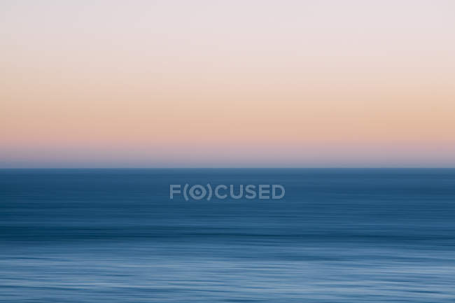 Pacific Ocean water at dusk at Oregon coastline. — Stock Photo