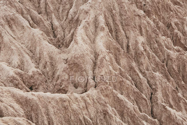 Natural pattern of Painted Desert rock formation in Petrified Forest National Park, USA. — Stock Photo