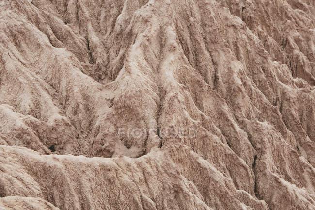 Modello naturale di formazione di roccia del deserto dipinto a Petrified Forest National Park, Usa. — Foto stock
