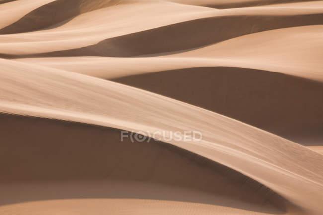 Природные картины песчаных дюн в пустыне Намиб, Намибия — стоковое фото