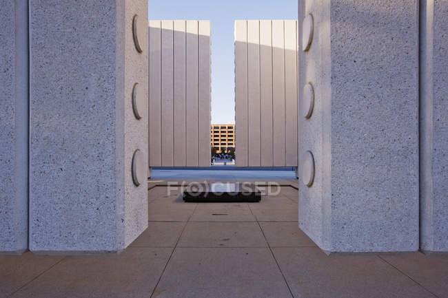 Arquitectura moderna en el centro de Dallas, Texas, USA - foto de stock