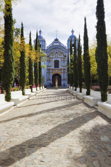 Church of Santa Domingo de Guzman in Oaxaca, Mexico — стокове фото