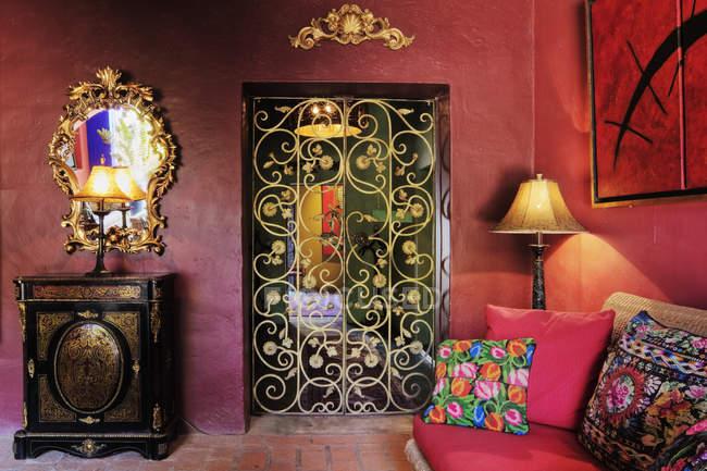 Luxurious interior motif, Todos Santos, Baja California, Mexico — Stock Photo