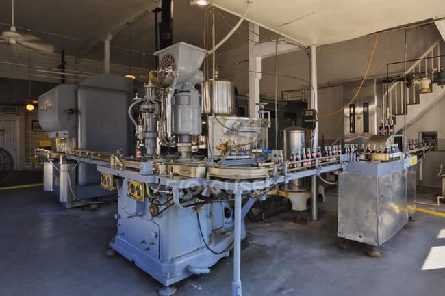 Histórica planta embotelladora de bebidas en Dublín, Texas, EE.UU. - foto de stock