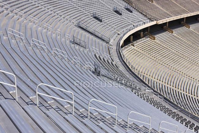Marco completo de gradas de estadio deportivo en Dallas, Texas, Estados Unidos - foto de stock